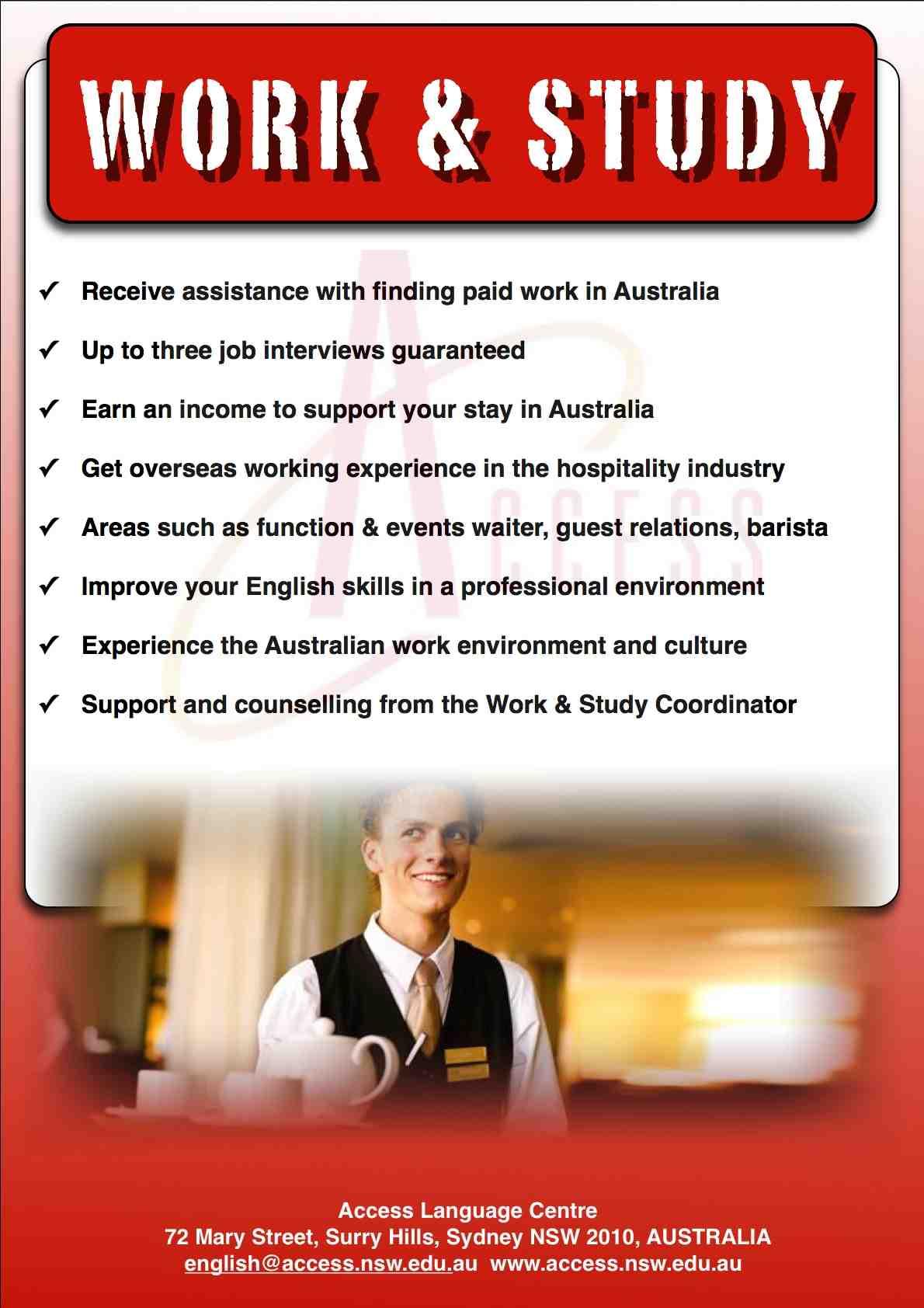 Live Work and Study in Australia with Go Study Australia ...